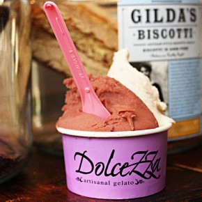 Dolcezza Does Fall Gelato and Sorbet