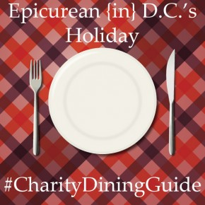 Give Back This Holiday Season: Charity Dining Guide 2013