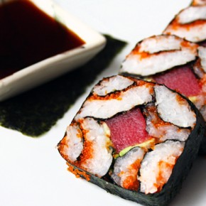 Slice of Rice™ Mosaic Sushi Roll Recipe: Sponsored by RiceWrap Foods + Kickstarter Campaign