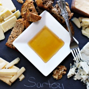 Cheese Plate + Cinnamon Raisin Soda Bread Recipe: Sponsored by Sartori Cheese