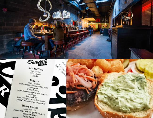 Satellite Room: Who Needs Salad When There\'s Tots | Exploring Food ...
