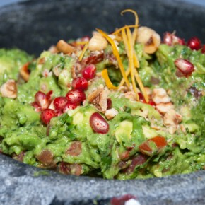 Celebrate Dia de los Muertos (Day of the Dead) with Rosa Mexicano's Guacamole de Otoño Recipe