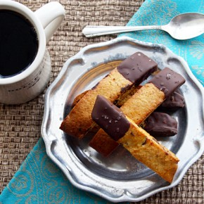 Dark Chocolate Honey-Almond Biscotti Recipe: Sponsored by PASCHA Chocolate
