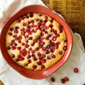 Cranberry Buttermilk Cake Recipe