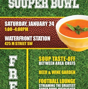 Waterfront Station Hosts First SOUP-er Bowl Competition & Taste-off January 24