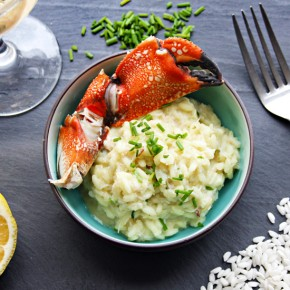 Curried Stone Crab Risotto Recipe: Sponsored by RSVP International
